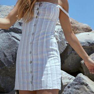 LA Hearts Button Front Dress